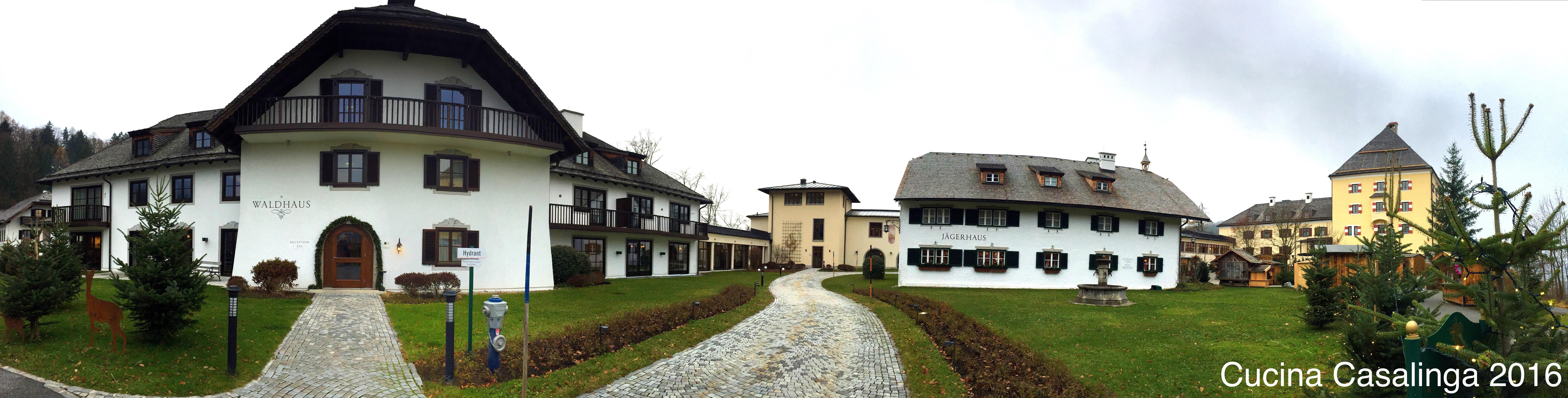 Schloss Fuschl - Panorama