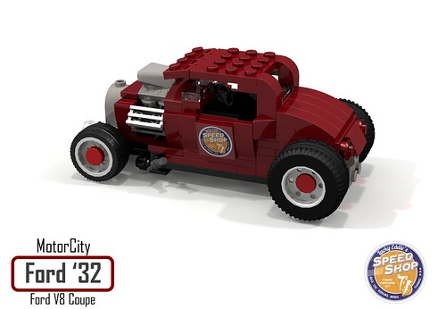 MotorCity Ford 1932 V8 Coupe - Lucky Eddie's Speed Shop