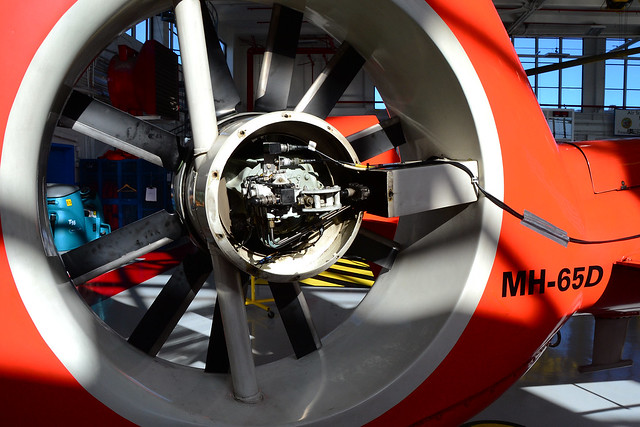 Fenestron Controls, MH-65D 6531