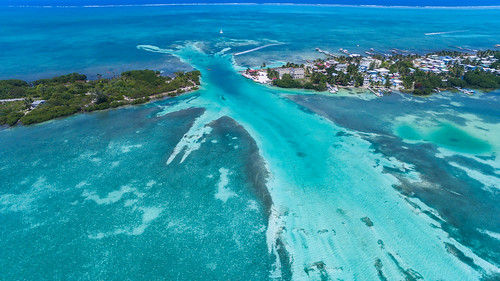 Caye Caulker Belize drone | by dronepicr