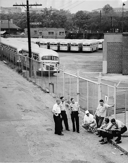 Brookland operators on first day of strike: 1955 | by Washington Area Spark