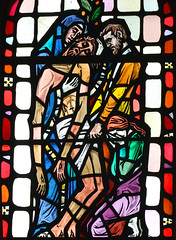 Christ taken down from the Cross by Hugh Powell, 1963