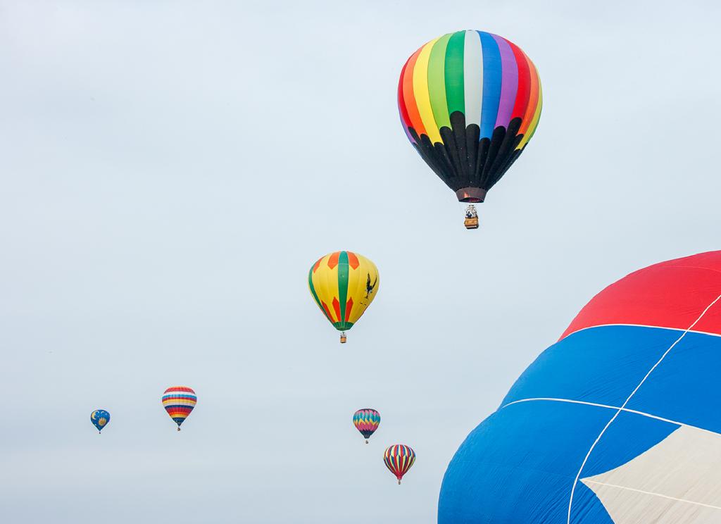 Balloons aloft #4   Ravenna Balloon-a-Fair, Ravenna, OH ...