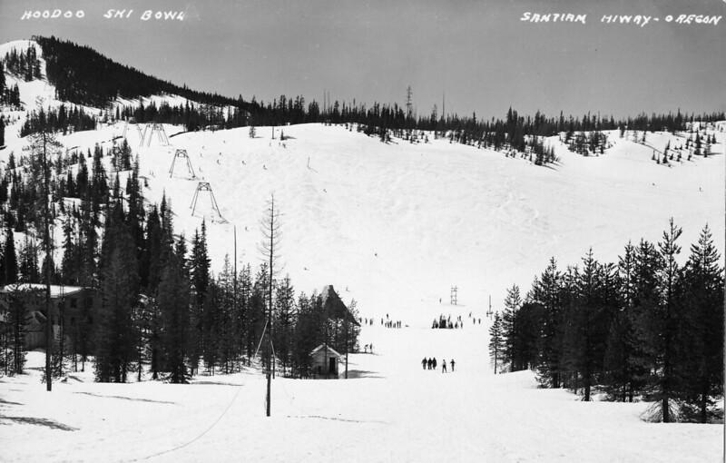 Hoodoo Ski Bowl, Santiam Highway, Oregon
