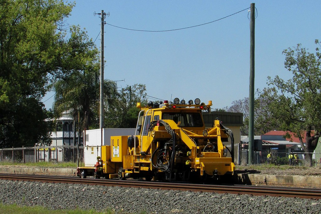 Queensland Rail - Track Machine by Shawn Stutsel