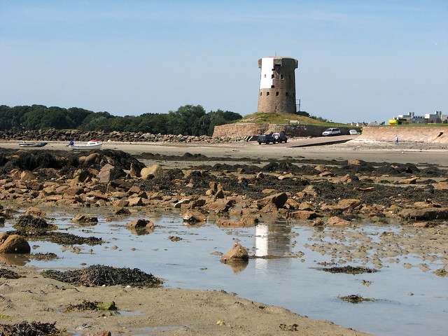 Martello Tower at Le Hocq
