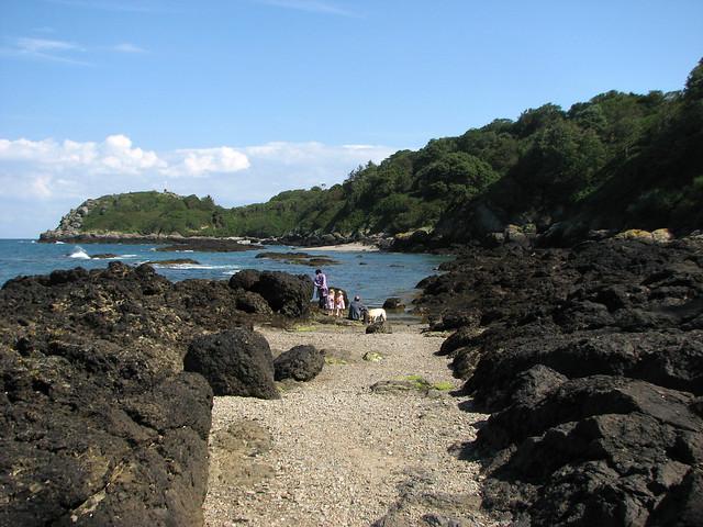 Beach east of Rozel
