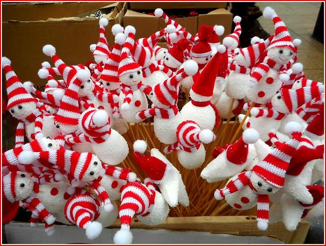 Box of Santas ..