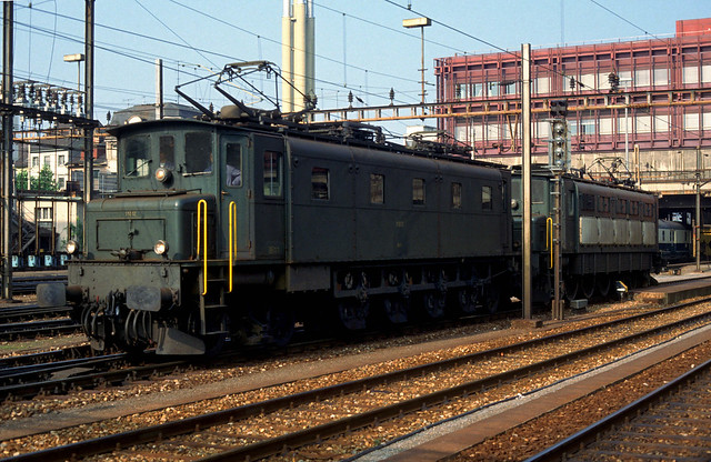 Ae4/7 11012 and mate in Basel