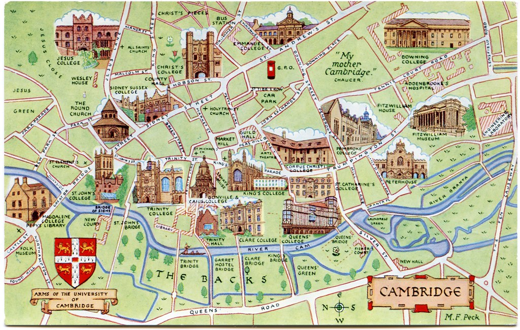Cambridge Map on