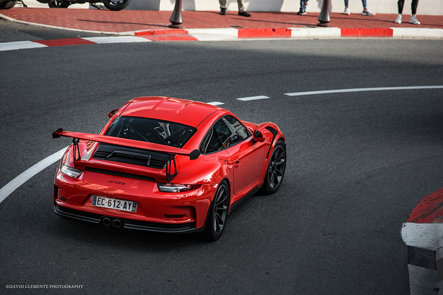 GT3RS from above.