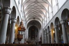 Interior of Konstanz Minster, 05.11.2011.