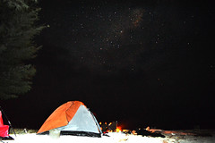 Milky Way View From Semak Daun Island