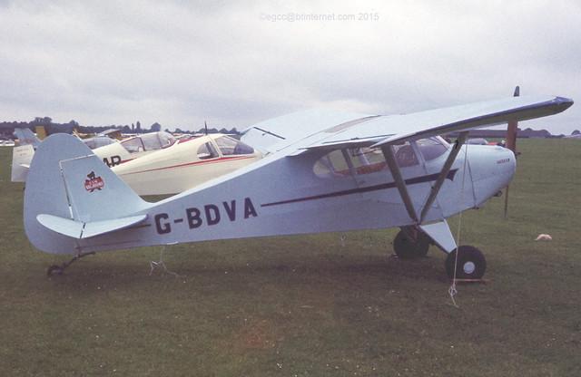 G-BDVA - 1948 build Piper PA-17 Vagabond, at the 1978 PFA Rally