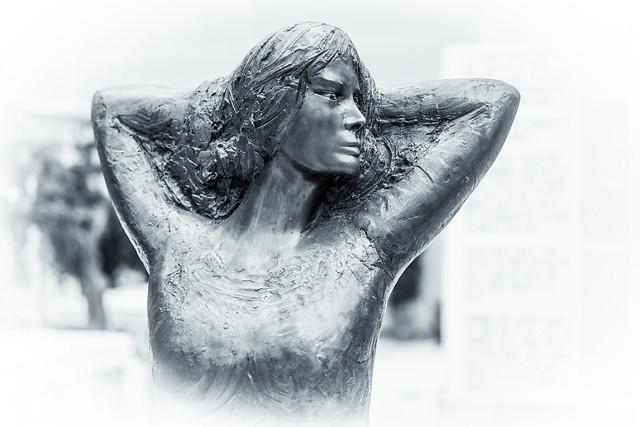Nude Woman in Silver