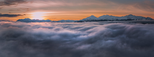 morning light panorama mountain mountains fog alaska sunrise nikon d750 tamron turnagainarm anchoragealaska 2470 tamronsp2470mmf28divcusd