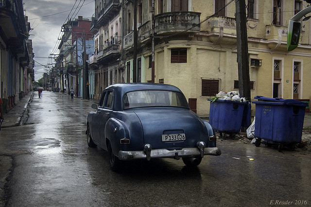 Rainy Day in Old Havana