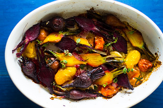 Roasted Beets and Tomatoes | by FerraroKitchen1