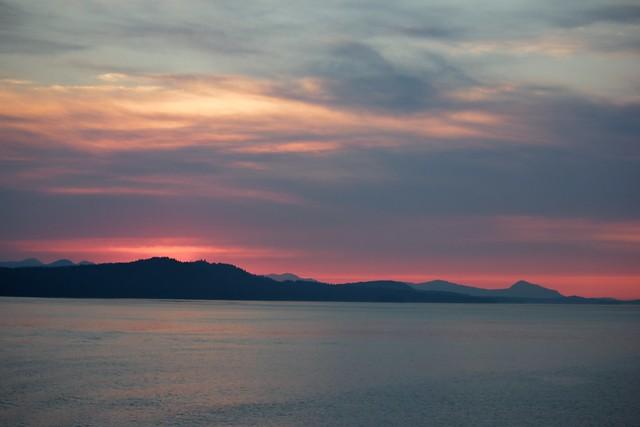 Gulf Islands Sunset