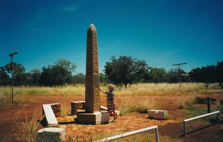 Overland Telegraph - North-South Line link.