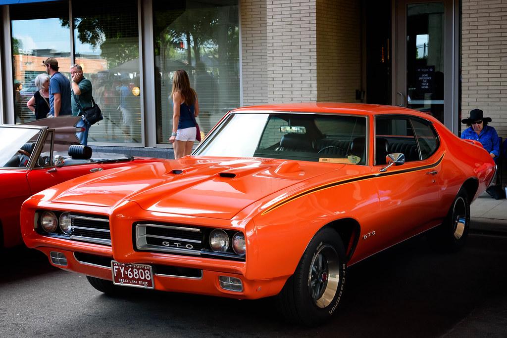 Pontiac Gto 2015 >> 1969 Pontiac Gto Taken At The 2015 Woodward Dream Cruise