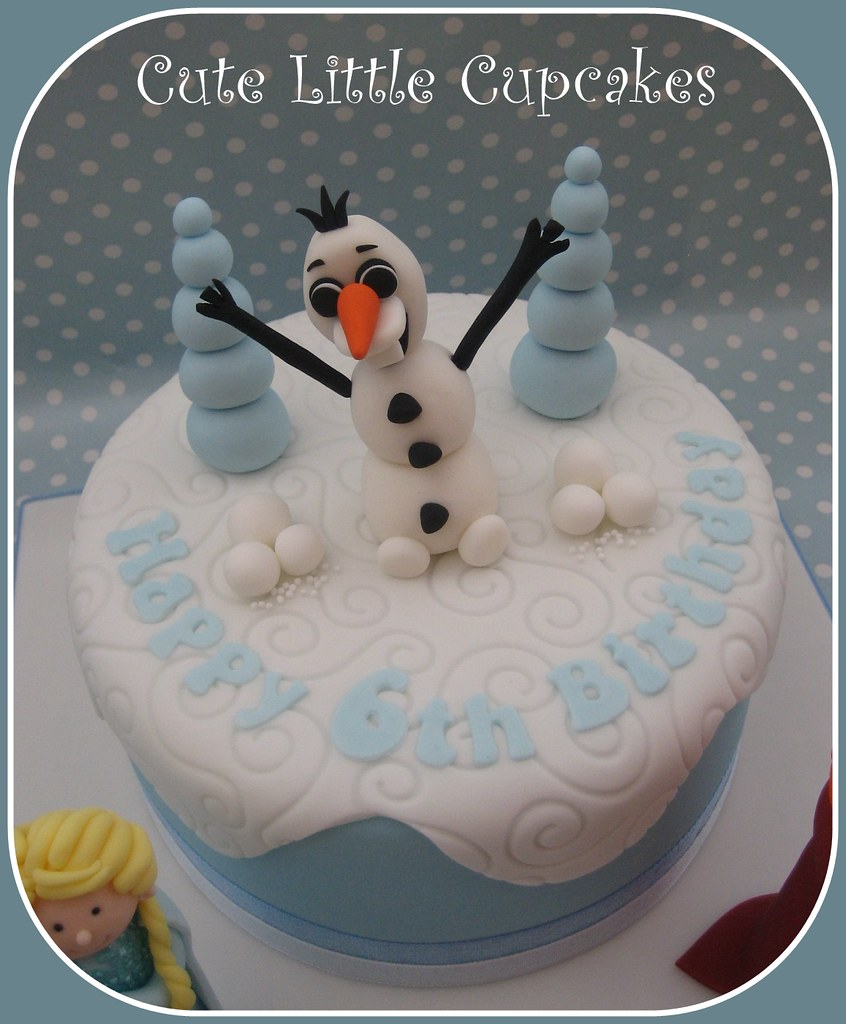 Awesome Frozen Themed Birthday Cake Heidi Stone Flickr Personalised Birthday Cards Paralily Jamesorg