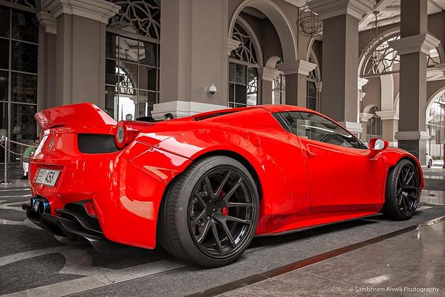 Ferrari 458 by LB Works....