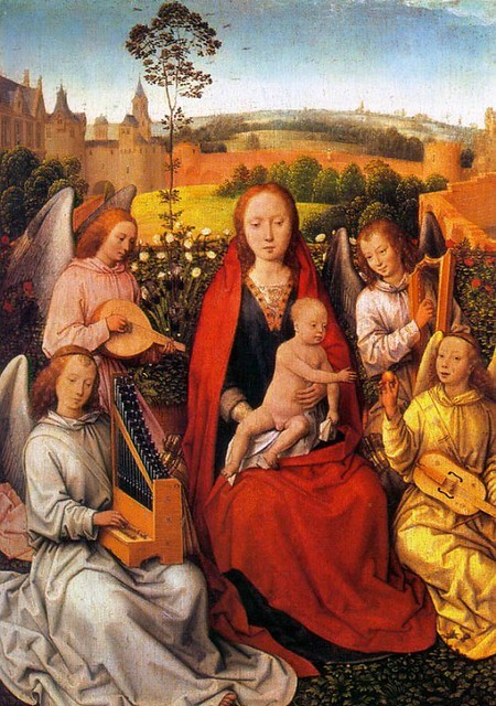 angels and mary
