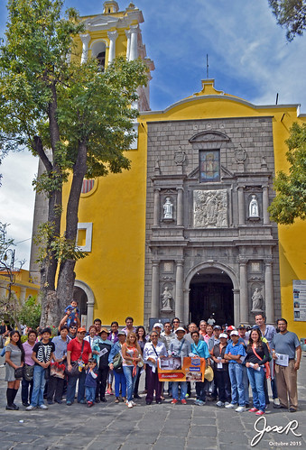Recorrido Puebla Antigoa en el Templo de la Merced