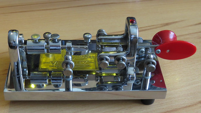 Vibroplex original de luxe, manufactured 1990
