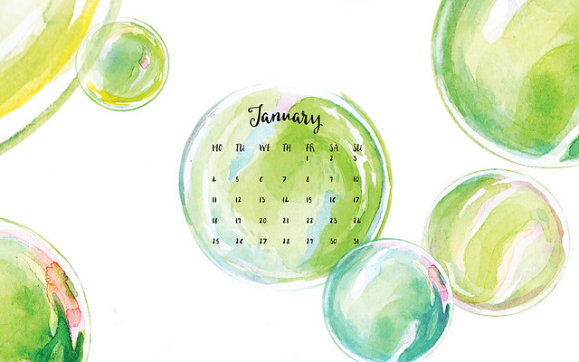 Desktop Wallpaper Calendar January 2016