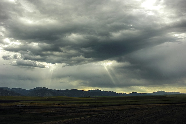 Storm over Antelope Flats