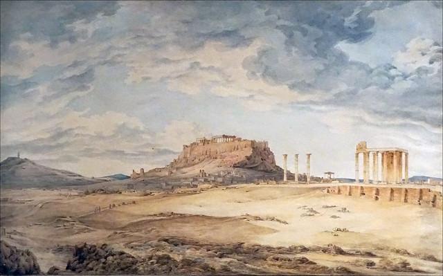 L' Acropole (musée Benaki, Athènes)