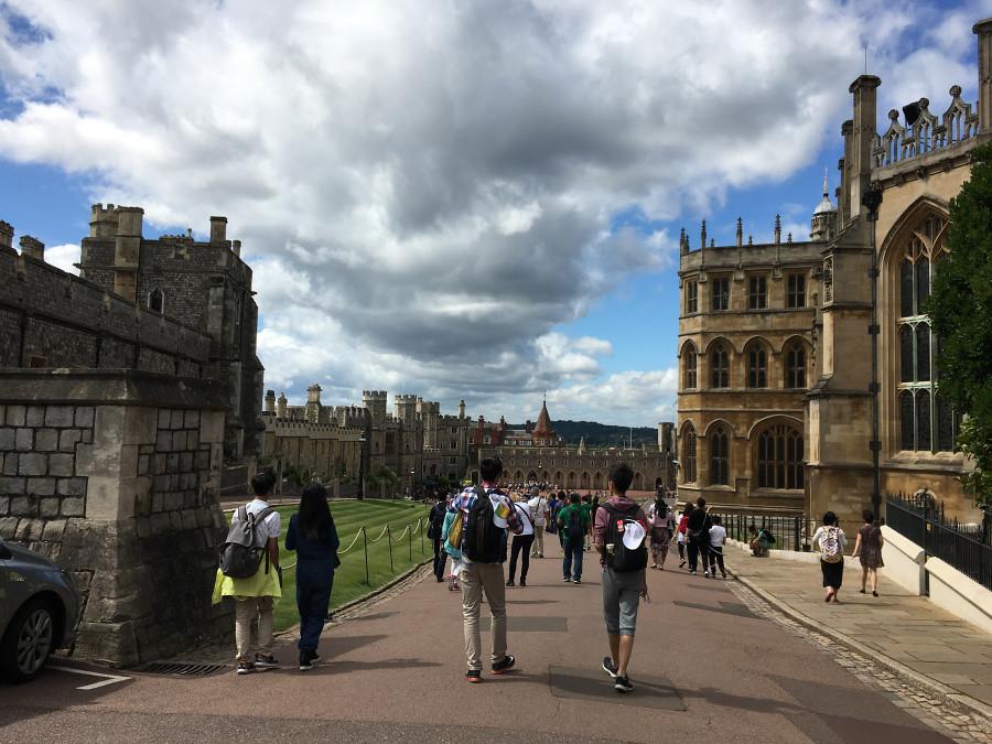 Ly, Cindy; England - TWELVE Windsor Castle 2