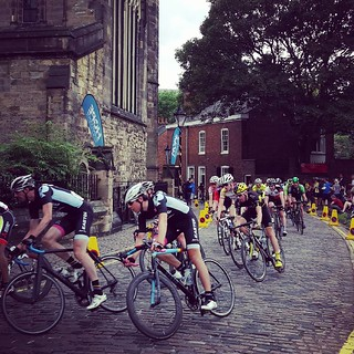 Loving the cobbled section! #CastleClassic #Leicester