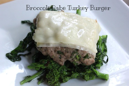 Broccoli Rabe Turkey Burgers | by NY Foodie Family