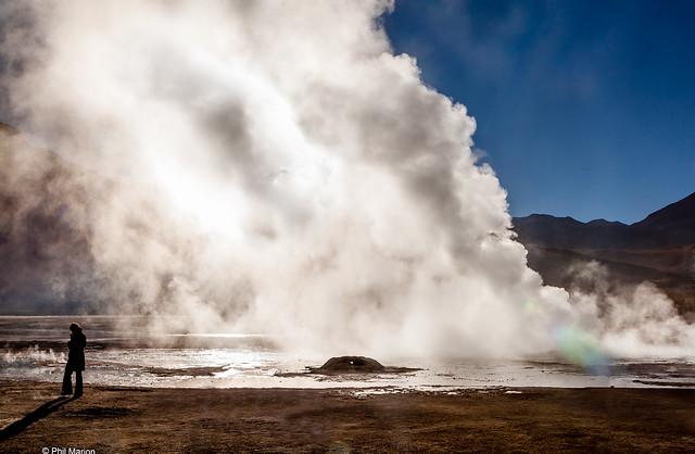 El Tatio geyser, Chile