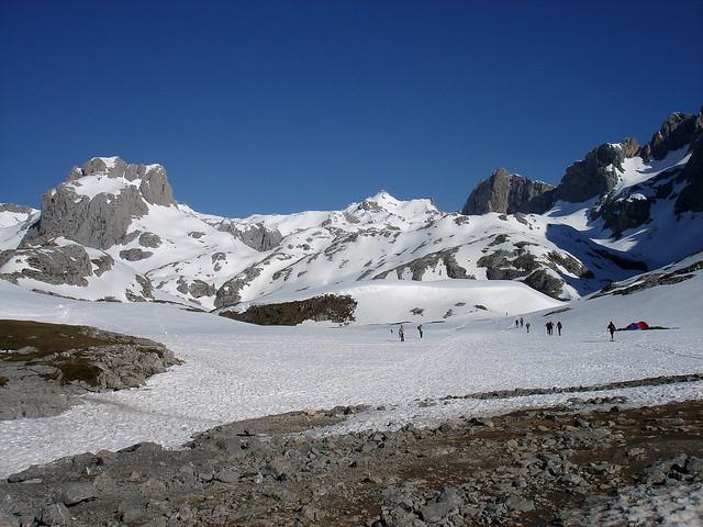 El 'pasillo central' de Picos de Europa