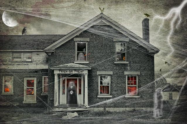 brick spook house