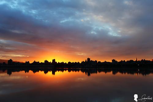 sky cloud sunrise canon taiwan taipei 台灣 台北 雲 skyfire 日出 ef1740 霞光 晨彩 eos5d2 忠孝碼頭