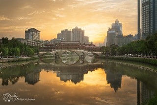 Chengdu sunset by plej_photo - 乐让菲力