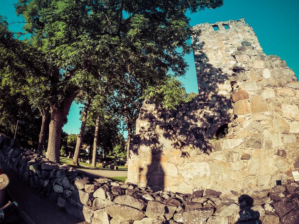 Sigtuna ruins