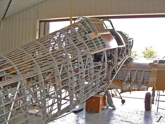 Hawker Hurricane R4118 framework
