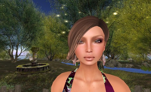 Rock Your Rack 2015_Dulce Secrets (Ember Shape model) & Semi-Precious (Morrigan Earrings Silver) | by Hidden Gems in Second Life (Interior Designer)