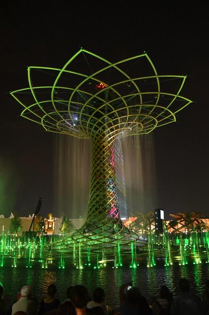 Pioggia illuminata - Illuminated rain - EXPO Milano 2015