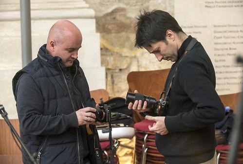 Recording of Missa Divi Xaverii foto © Petra Hajská