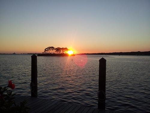 sunset perdidokey