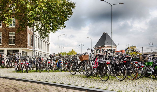 Maastricht - bicycles