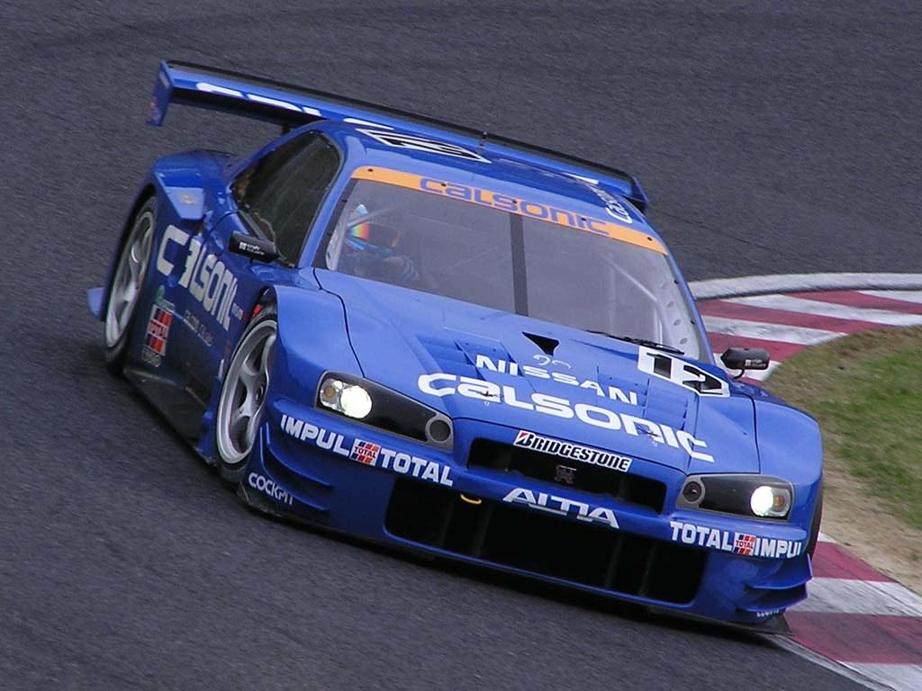 Nissan Skyline GT-R R34 | 2003 Suzuka GT 300 km # 12 Calsoni… | Flickr