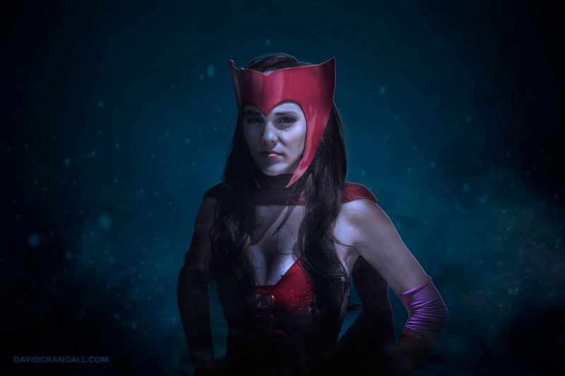 Scarlet Witch Cosplay at SacAnime 2015